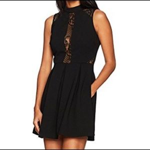 NWT Speechless Dress, Black with Lace